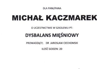 kaczmarek-Dysbalans Mięśniowy
