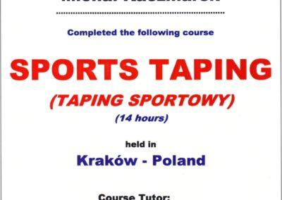 kaczmarek-Taping Sportowy