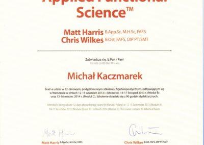 kaczmarek-applied_functional_science